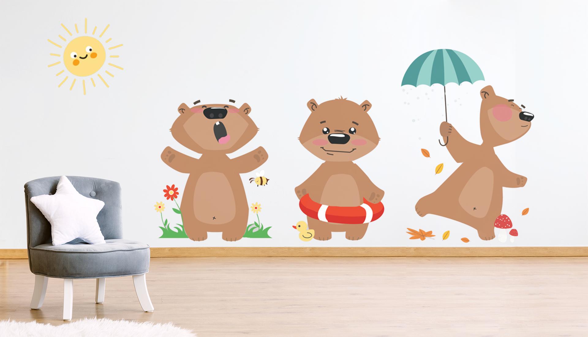 Baby Interior Design Pareti Decorate A Mano Babyinteriordesign It
