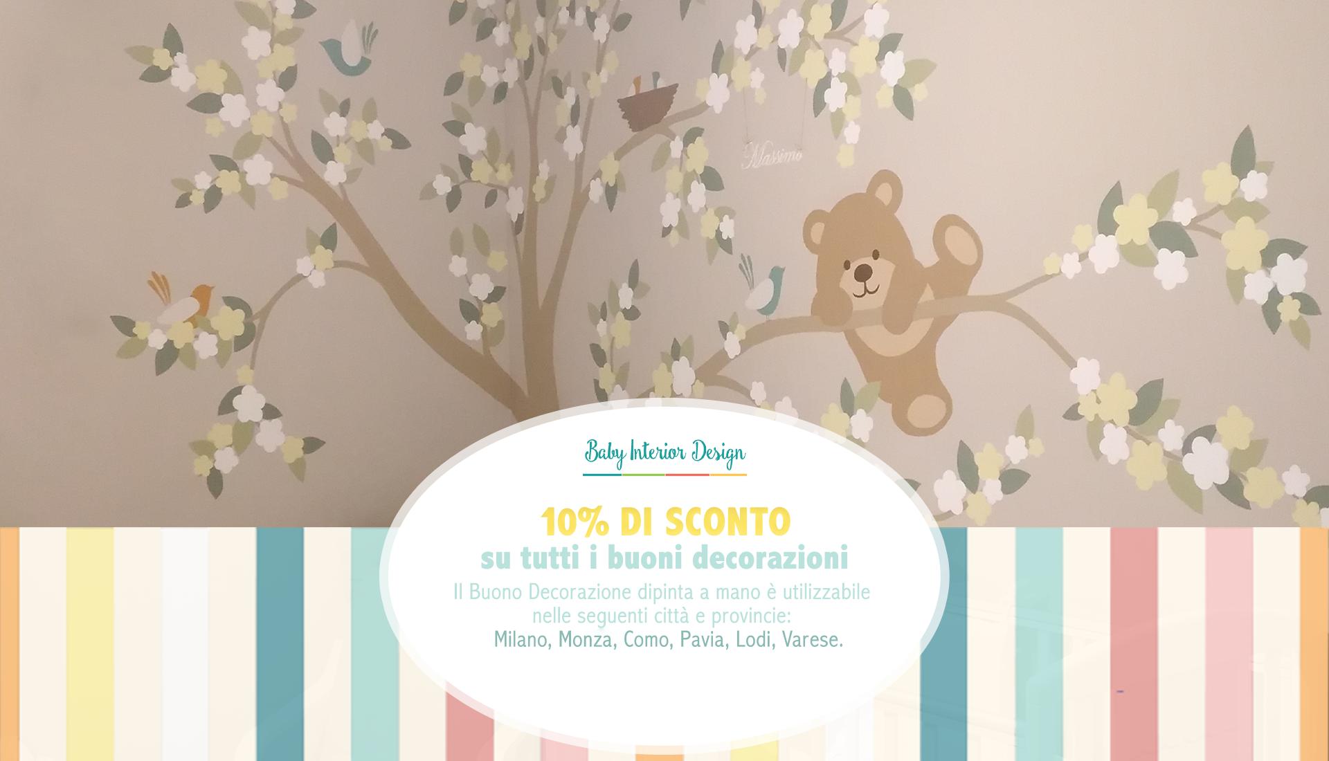 Muri Camerette Per Bambini baby interior design | pareti decorate a mano
